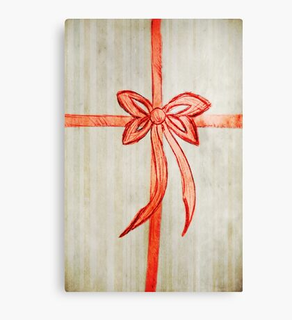 Bow Canvas Print