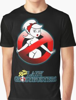 The REAL Lady Ghostbusters - Rule #63 Poster v2 Graphic T-Shirt