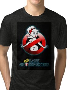 The REAL Lady Ghostbusters - Rule #63 Poster v2 Tri-blend T-Shirt