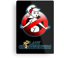 The REAL Lady Ghostbusters - Rule #63 Poster v2 Metal Print