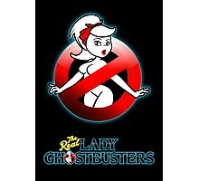 The REAL Lady Ghostbusters - Rule #63 Poster v2 Photographic Print