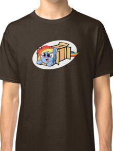 Rainbow Dash in a box Classic T-Shirt