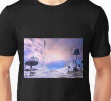 Frozen Alien Landscape Unisex T-Shirt