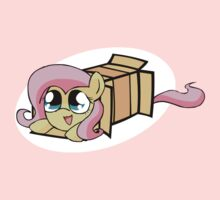 Fluttershy in a box Kids Clothes