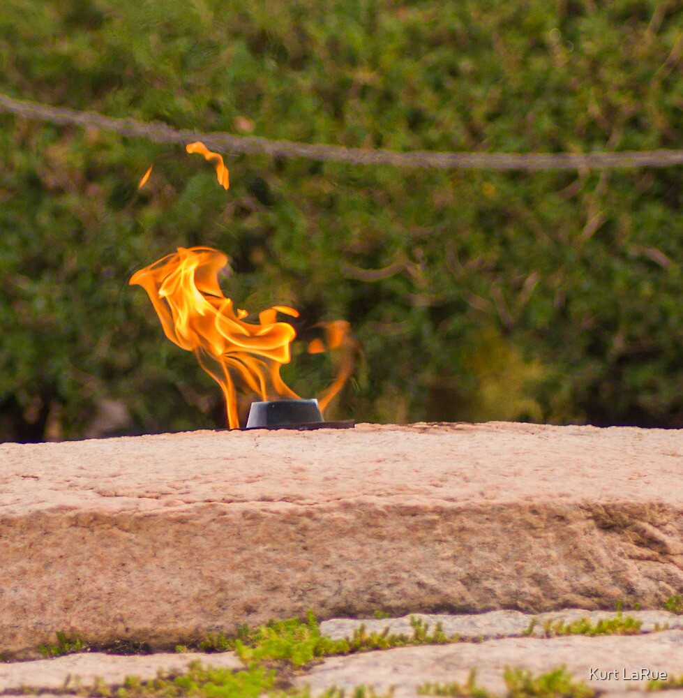 Study of the Eternal Flame (1 of 4) by Kurt LaRue