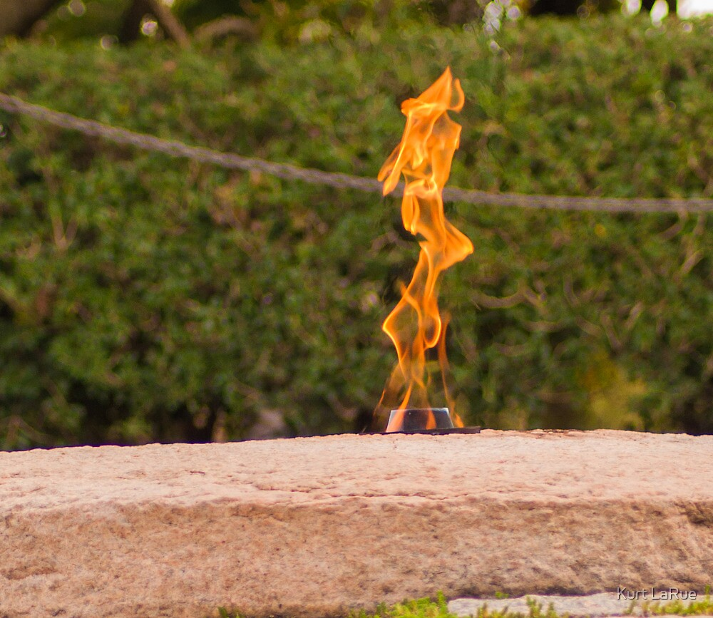 Study of the Eternal Flame (2 of 4) by Kurt LaRue