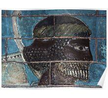 Bricks from Palace of Darius Susa 500 BC 19840212 0032  Poster