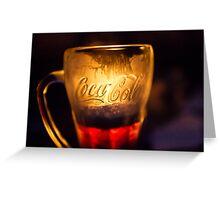 Coca Cola  Greeting Card