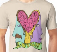 Love is in the Brain Unisex T-Shirt