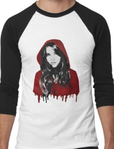 The Girl with the Red Hood Men's Baseball ¾ T-Shirt