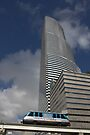 Miami Tower and Metromover by Kasia-D