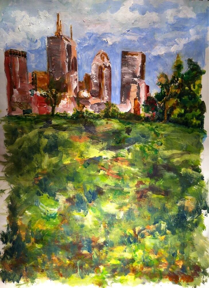 View of Boston by heidilee