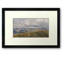 Lake District Landscape Cumbria Framed Print