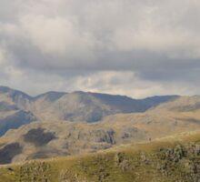 Lake District Landscape Cumbria Sticker