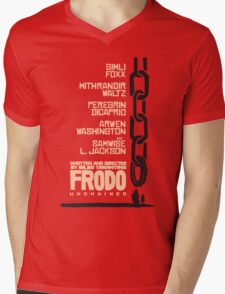 Frodo Unchained Mens V-Neck T-Shirt