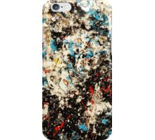 Number 101 Abstract by Mark Compton iPhone Case/Skin