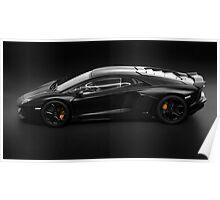 Lamborghini Aventador LP700-4 side profile Poster