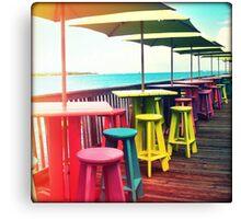 Rainbow of Keys II Canvas Print