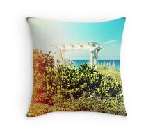 Restful Terrace Throw Pillow