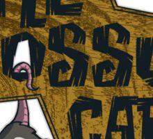 The Opossum Cafe Sticker