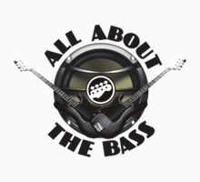 All about the bass.  Kids Tee