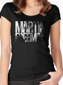 Martin Freeman Women's Fitted Scoop T-Shirt