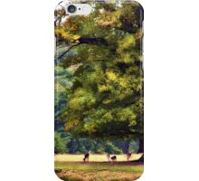 Under A Big Oak Tree In Leicestershire,England iPhone Case/Skin