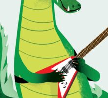 Crocodile Rock Sticker