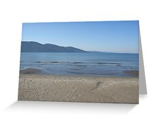 The Datca Peninsula (From Akyaka Beach) Greeting Card