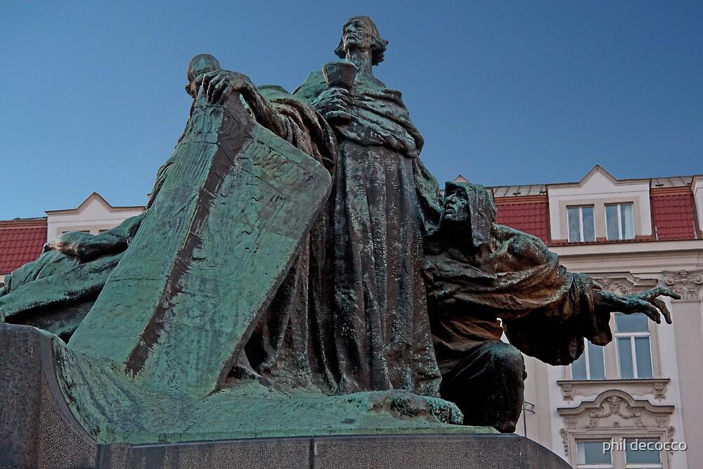 Prague Monument by phil decocco