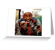Ainsley Harriott meme Greeting Card