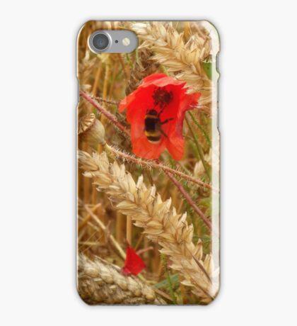 Poppy amongst the Corn iPhone Case/Skin