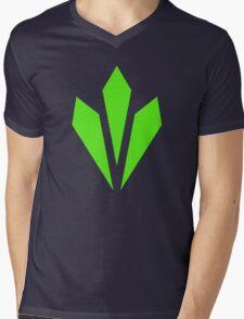 Vitality - Green Mens V-Neck T-Shirt