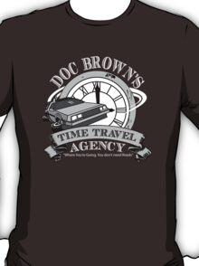 Doc Brown's Travel Agency T-Shirt