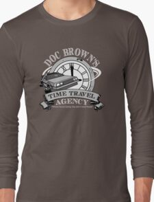 Doc Brown's Travel Agency Long Sleeve T-Shirt