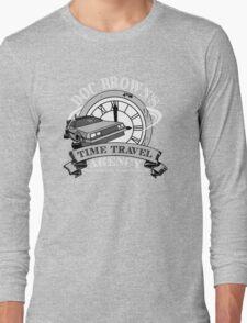 Doc Brown's Travel Agency Long Sleeve T-Shirt