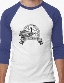 Doc Brown's Travel Agency Men's Baseball ¾ T-Shirt