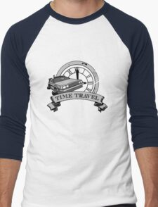 Doc Brown's Travel Agency Men's Baseball ¾ T-Shirt