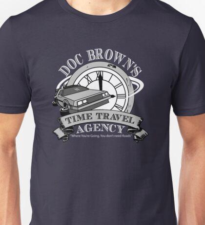 Doc Brown's Travel Agency Unisex T-Shirt
