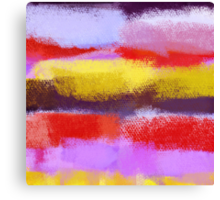 Abstract Art Painting 2 Canvas Print