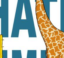 Giraffes Hate Limbo Sticker