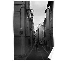 Bordeaux Street Scene Poster