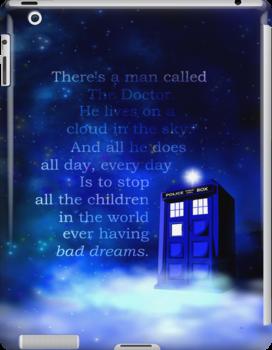 TARDIS on a Cloud by jlechuga