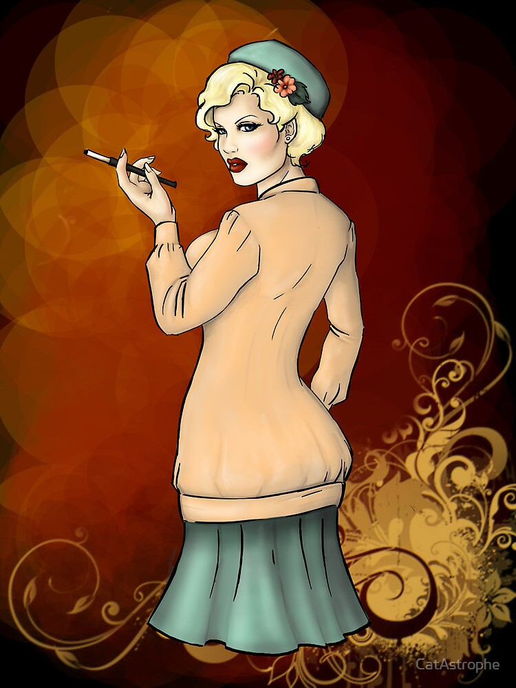 1920s Flapper Girl - Georgette 2 by CatAstrophe
