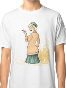 1920s Flapper Girl - Georgette 2 Classic T-Shirt
