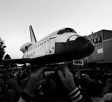 Space Shuttle on the Street II by davidalf