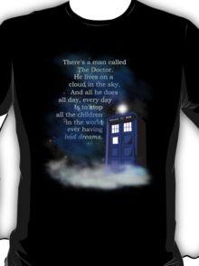 TARDIS on a Cloud T-Shirt
