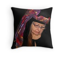 A Fashion Statement Throw Pillow
