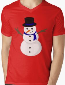 Christmas Snowman! (Blue based) T-Shirt