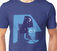 Night Owl - Blue v. Unisex T-Shirt